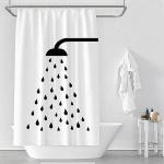 샤워 물방울 샤워커튼 180x200cm