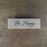 [메세지]필기체 Be Happy