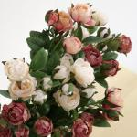 봉오리 장미 (3color)