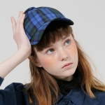 PFS BIG BUTTON CAP - BLUE CHECK