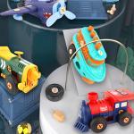 레츠토이 DIY 전동 레트로 만들기 공구놀이 장난감