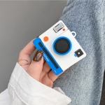 에어팟 1/2 차이팟 카메라 입체 실리콘케이스 249블루