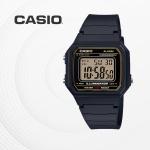 카시오 군인 군용 전자 남성 손목시계 W-217H-9A