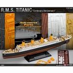 (아카데미과학 AC14214) 1/700 R.M.S. 타이타닉 [100주년 기념 멀티 칼라 파트 에디션]  여객선 프라모델
