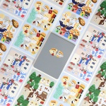 베베X핫트랙스 세계여행 스티커팩