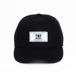 TNP OG BOX LOGO BALL CAP - BLACK