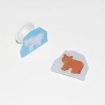 [에이스텝] Hungry Little Bear 입체 스마트톡