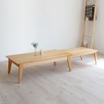 늘어나는 테이블(원목형)