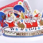 씰룩셀룩 흥부자들 크리스마스 팝업 / 030-CM-0024P (크리스마스카드)