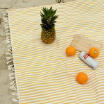 피크닉매트 - Yellow Stripe