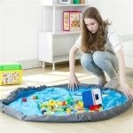 어린이 장난감 정리주머니 놀이매트