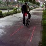 블록 레이저 테일 자전거 후미등