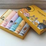 카카오프렌즈 40수 코마사 세면타올 6매 선물세트
