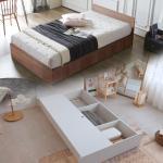 객실용 half 시크릿수납 SS 침대 양면매트 DM214