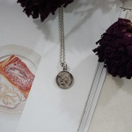 925실버 동전 목걸이 5펜스 - 45cm