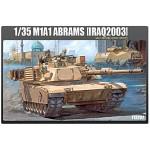 (아카데미과학-ACT13202) 1/35 M1A1 에이브람스 이라크 2003  탱크 프라모델