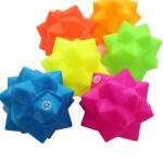 강아지 장난감 네온컬러 삑삑이 볼 색상랜덤