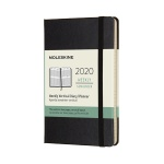 몰스킨 2020위클리(세로형)/블랙 하드 P