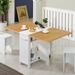 [랜선할인]이동형 폴딩 테이블 식탁(멤브레인) KD453