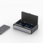 스마트폰 충전기 겸용 UV 살균기 / 시계 온도계 ORU06