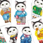 DIY패브릭 - 고양이