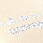 패턴 플레이크 스티커 (2종)