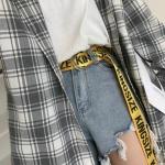 스트릿 패션 링벨트 4color 링 스트랩 벨트 인싸템