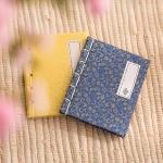 전통 돌잡이 책 (소-블루)