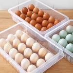 냉장고 신선 달걀보관 손잡이 커버형 18홀 에그트레이