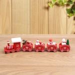 크리스마스 원목 칙칙폭폭 기차(24cm)
