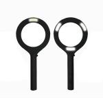 [스크래치]신박한 LED 돋보기 휴대용 220루멘 1+1