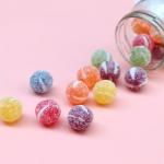 과일맛 알 사탕 왕 눈깔 캔디 160g 오색 감성