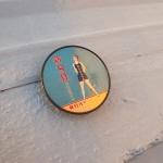 빈티지 신여성 해변의 여인 그립톡