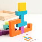 패턴플레이 3D 도형퍼즐 (5세이상, 입체도형)