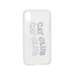 Cat Club iPhone Case Lavender