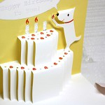 생일카드_POPUP_멍이의 2단케이크