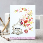 꽃잎 카드 FT1039-2