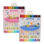 아이비스 12색슬라이더색연필(FR)-핑크