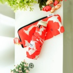 wpc우산 플라워프린트 미니5단 양산 겸 우산 762-127