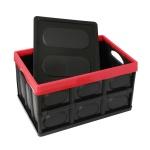 트리카 폴딩박스(56L) 트렁크정리 수납 리빙박스 블랙