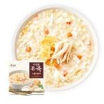 (본죽/무료배송)아침엔본죽 누룽지닭죽 270g x 5개