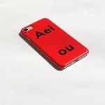 아에이오우 아이폰케이스_Aeiou Tomato Red