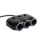 차량용 멀티 충전기 / 시거잭 3구 듀얼 USB LCBB714