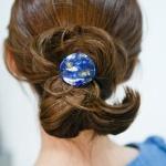 셀룰로오즈 원형 머리끈