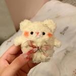 에어팟 1/2 테디 곰돌이 인형 뜨개질케이스 338머리삔
