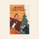 [카드] MERRY CHRISTMAS