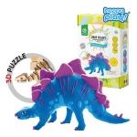 해피플레이 로버드 공룡클레이장난감 스테고사우루스