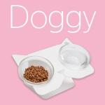 도기키티식탁 도기(Doggy) 강아지 고양이식탁