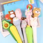 말랑 스퀴시 볼펜 9종 귀여운 과일 동물 장난감 펜