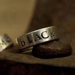 [수크] RS-119 블랙메일반지(Black Mail Ring)